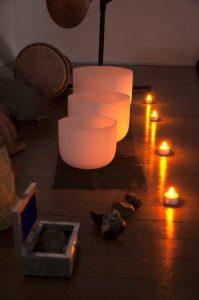 What is a sound bath - bowls